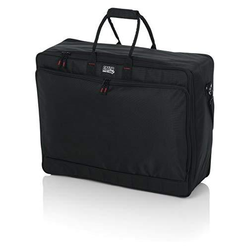 """Gator Cases Padded Nylon Mixer/Gear Carry Bag With Removable Strap; 25"""" X 19"""" X 8"""" (G-Mixerbag-2519)"""
