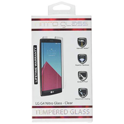 Znitro Lg G4 Nitro Glass Screen Protector - Retail Packaging - Clear