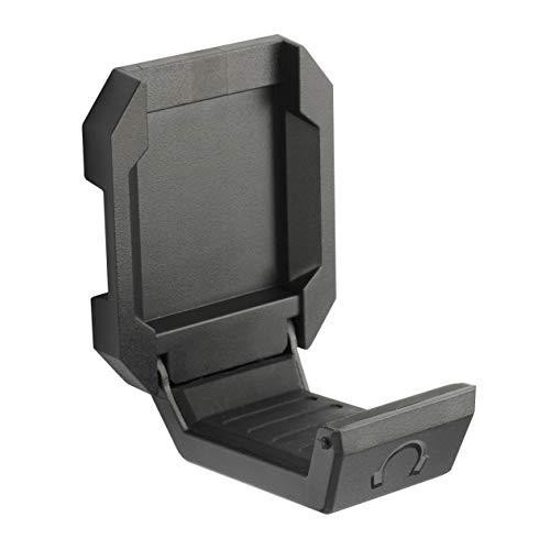 Enermax Magnetic Mounting Headset Holder With Metal Protection Foam, Provides Up To 1 Kg/2.2 Lbs, Compatible With Computer/Gaming Headsets, Headphone Of All Shapes And Sizes, Ehb001