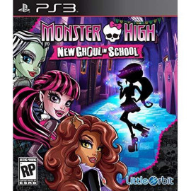 Monster High New Ghoul In School Ps3 - Playstation 3