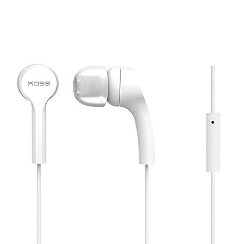 Koss Keb9Iw Wired Earphones, White