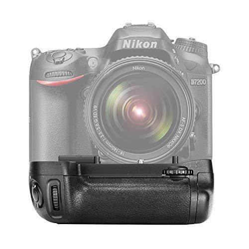 Neewer Vertical Battery Grip Replacement For Mb-D15 Works With En-El15 Battery Or 6 Pieces Aa Batteries For Nikon D7100 D7200 Digital Slr Camera
