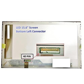 """Lenovo Ideapad G580 New Replacement 15.6"""" Led Lcd Screen Wxga Hd Laptop Display Also Fits Y580, Z580 & B580 59345 Matte"""