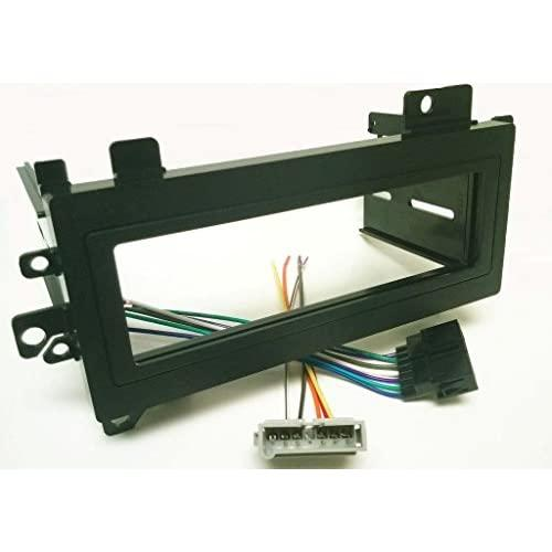 Dash Kit And Wire Harness For Installing A New Single Din Radio Into A Jeep Grand Cherokee 1993-1998 And A Dodge Avenger 1995-2000