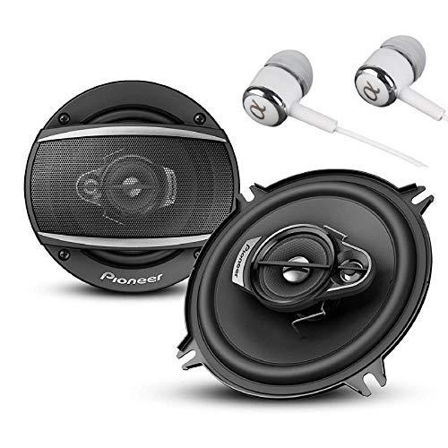 """Ts-A1370F A Series 5.25"""" 300 Watts Max 3-Way Car Speakers Pair With Carbon And Mica Reinforced Injection Molded Polypropylene (Impp) Cone Construction"""