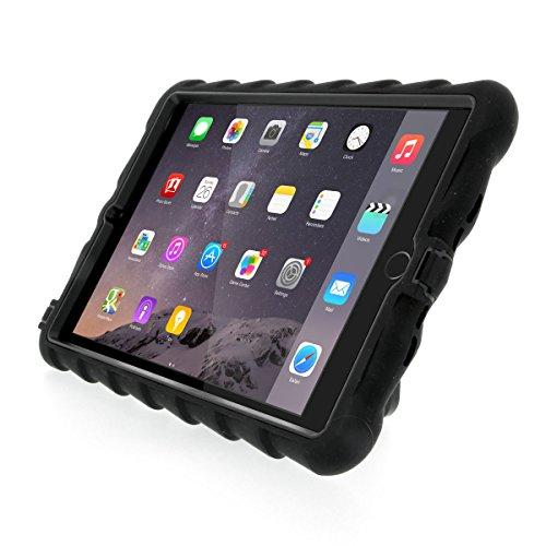 Gumdrop Hideaway Case With Kickstand For The Apple Ipad Mini 4 Tablet For K-12 Students, Teachers, Kids - Black, Rugged, Shock Absorbing, Extreme Drop Protection