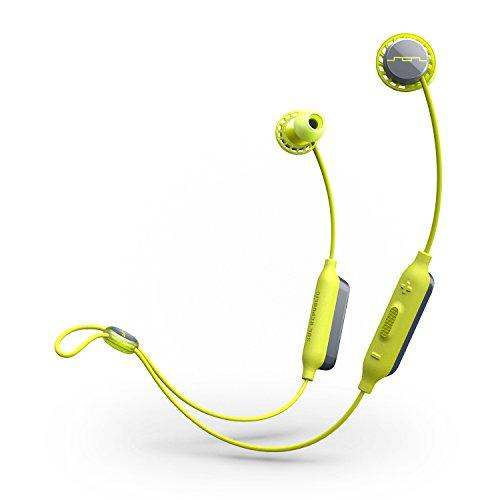 Sol Republic Relays Sport Water Resistant Wireless Bluetooth Headphones, Lime