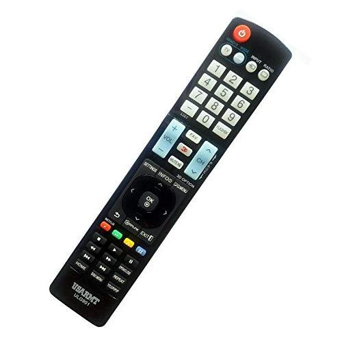 New Lg Universal Tv&Amp;Dvd Blu-Ray Player Remote Fit For 99% Lg Plasma Lcd Led 3D Tv &Amp; Dvd Blu-Ray Player, Replace Akb72914207 Akb72915238 Akb72915206 . No Need To Set Up, Easy To Use!