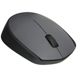 Logitech M170 Wireless Mouse - For Computer And Laptop Use, Usb Receiver And 12 Month Battery Life, Gray