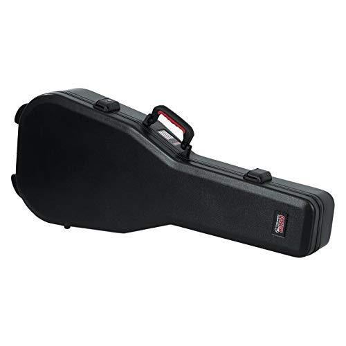 Gator Cases Molded Flight Case For Classical Style Acoustic Guitars With Tsa Approved Locking Latch; (Gtsa-Gtrclass)