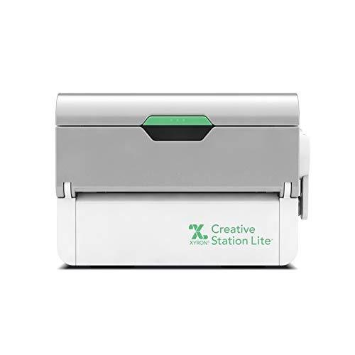 """Xyron Creative Station Lite, 3"""" Or 5"""", Makes Invitations, Handmade Cards, Die Cuts Craft Projects And School Projects (624740)"""