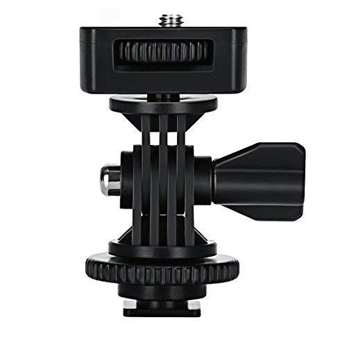 """Viltrox Adjustable Angle Pole Swivel Hot Shoe Mount 1/4"""" Screw Hot Shoe Mount Adapter For Mounting Video Camcorder Monitors"""