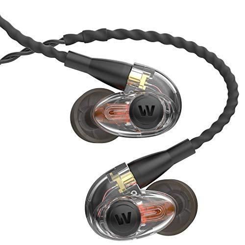 Westone Am Pro 10 Single-Driver Universal-Fit In-Ear Musicians' Monitors With Sled Technology And Removable Twisted Mmcx Audio Cable