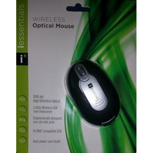 Iessentials Cordless Optical Mouse For Notebooks