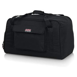 """Gator Cases Heavy-Duty Speaker Tote Bag For Compact 12"""" Speaker Cabinets; Fits Qsc K12, Yamaha Dxr12 And More (Gpa-Tote12)"""