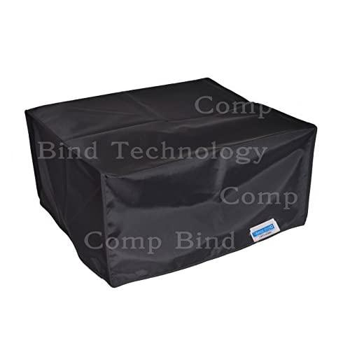 Comp Bind Technology Printer Dust Cover For Epson Expression Et2550 Eco Tank Printer, Black Nylon Dust Cover Size 19.3''W X 11.8''D X 6.3''H