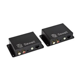 Sewell Sound Link Audio Over Single Cat5E Or Cat6, 3.5Mm Or Rca, 600M Or 2000 Ft, Bi-Directional, Up To Two Inputs/Outputs