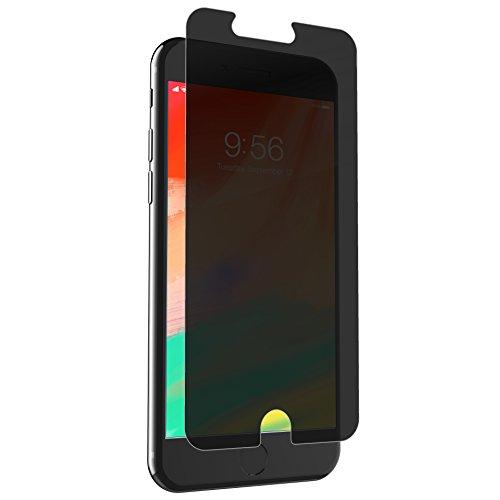 Zagg Invisibleshield Glass+ Privacy Screen Protector For Apple Iphone 8 Plus, Iphone 7 Plus, Iphone 6S Plus, Iphone 6 Plus - 3X Impact Protection