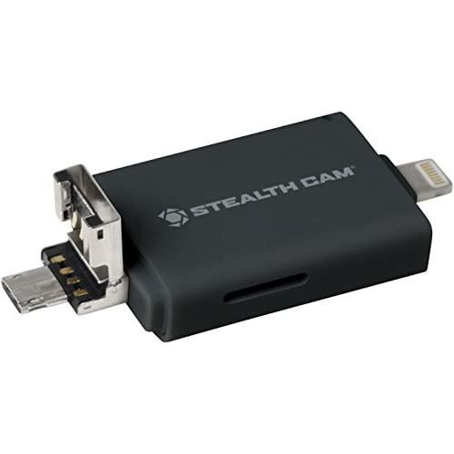 Stealth Cam Dual Device Memory Card Reader (Ios And Andriod)