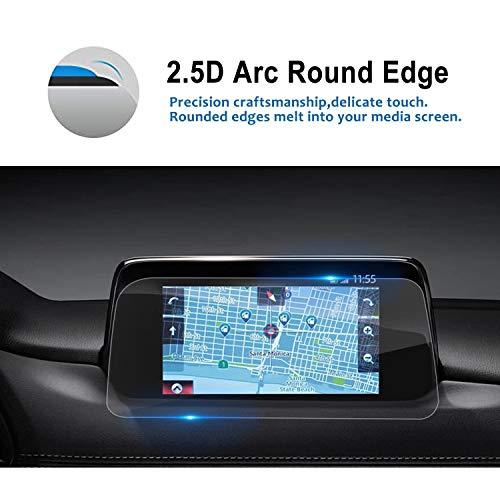 Lfotpp Mazda Cx-5 2017-2019 7 Inch Mzd Connect Car Navigation Screen Protector, 9H Tempered Glass Infotainment In-Dash Center Touch Screen Protector Anti Scratch High Clarity
