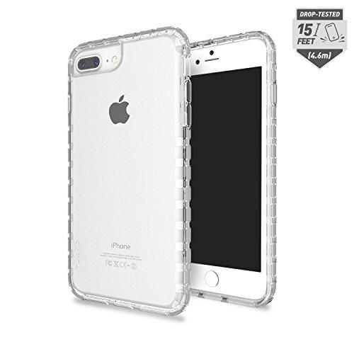 Skech Transparent 15 Foot Drop Tested Echo Case Ultra Tough Cover Apple Iphone 8 Plus - Clear