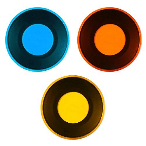 Polaroid Color Filter Set With (3) Unique Magnetic Filters Snap. Red, Orange &Amp; Blue - Perfect For Professional Work &Amp; Creative Play
