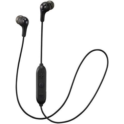 Jvc Soft Wireless Earbud With Stayfit Tips, Remote And Mic And Bluetooth Black (Ha-Fx9Btb)