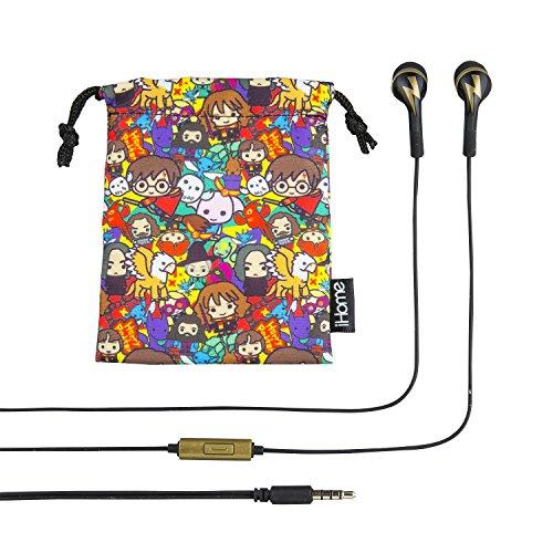 Harry Potter In Ear Earbuds With Call Answer Button