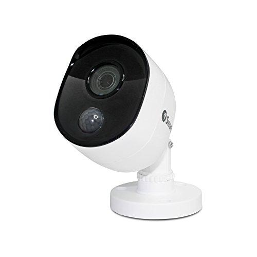 Swann Wired Pir Bullet Security Camera, 1080P Full Hd Surveillance Cam With Infrared Night Vision, Indoor/Outdoor, Thermal, Heat & Motion Sensing, Add To Dvr, Swpro-1080Msb