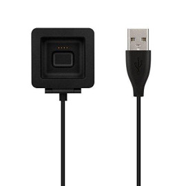 Onn Fb159Rcc 2.97' Charging Cable For Fitbit Blaze - Black