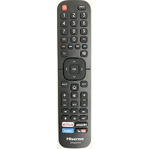 New Usarmt Replaced Hisense En2A27Ht Remote Control For Hisense Smart 4K Hdr Tv 40H5D 43H5D 43H6D 50Du6070 50H5D 50H6D 55Du6070 55H6D 60Du6070 65H6D-Sold By Sourcing Remote Exclusively