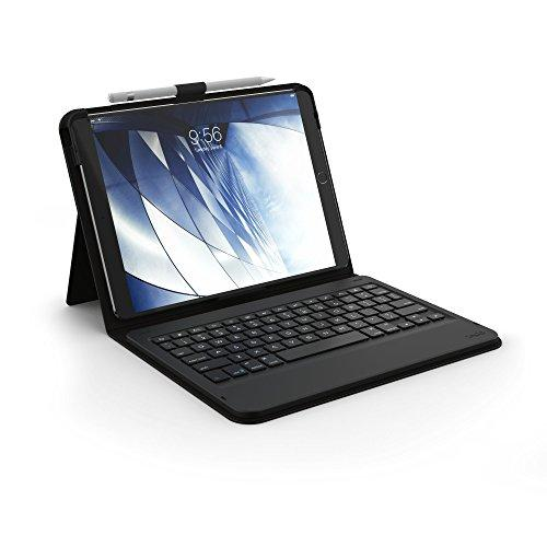 "Zagg Messenger Folio Case And Non-Backlit Bluetooth Keyboard For Apple Ipad 10.5"" And 2019 Ipad Pro 10.5"" - Black"