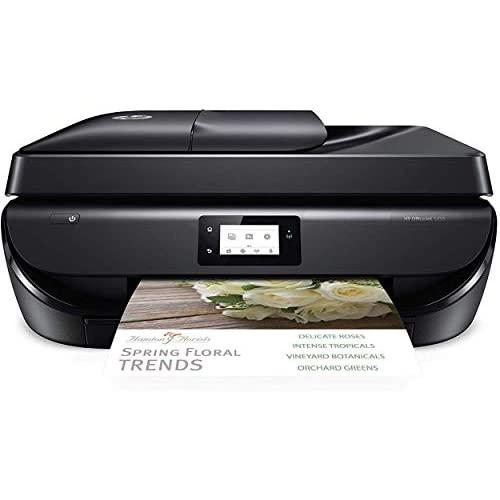 Hp Officejet 5255 Wireless All-In-One Printer, Hp Instant Ink Or electroeshop Dash Replenishment Ready (M2U75A) (Oj 5255), Black