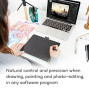 """Wacom Intuos Wireless Graphic Tablet With 3 Bonus Software Included, 10.4"""" X 7.8"""", Black With Pistachio Accent (Ctl6100Wle0)"""
