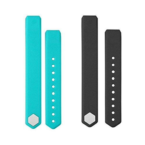 Heckia Id115 Replacement Wrist Straps, New Material Wristband For Id 115 Activity Trackers, 2 Straps,Black And Green