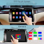 """Car Stereo, 1 Din For Bmw E46 M3 318 320 325 330 335, 9"""" Touchscreen, Dsp+, Support Android Auto/Gps Navigation/Hd1080P/Fast Boot/Backup Camera/Obdii"""