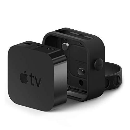 Elago Apple Tv Mount Compatible With Apple Tv 4K / 4Th Generation - Three Mounting Options, Easy Installation, Scratch-Free Material, Space Saving