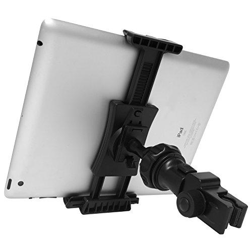 Macally Phone Or Tablet Mic Mount - Perfect For Music Stands & Microphone Boom Poles - 360