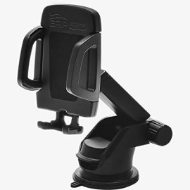 Grip All-In-1 (6Pc) Car Air Vent, Windshield, Dashboard, Cd Slot Mount Stand For Iphone, Galaxy, Universal, Mobile Phone Holder