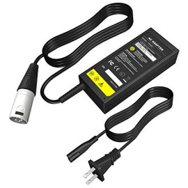 24V 2A Scooter Battery Charger For Jazzy Power Chair,Pride Hoveround Mobility,Schwinn S300 S350 S400 S500 S650,Ezip 400 500 650 750 900 Mountain Trailz,Shoprider,Golden Buzzaround Lite