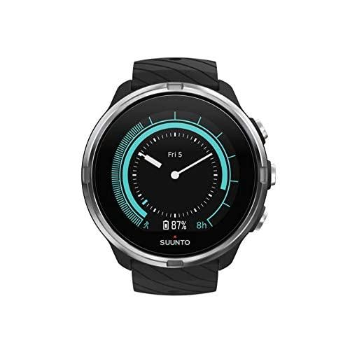 Suunto 9, Gps Sports Watch With Long Battery Life And Wrist-Based Heart Rate, Non-Barometer, Black