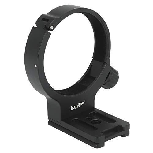 Haoge Lmr-C100 Lens Collar Replacement Foot Tripod Mount Ring D For Canon Ef 100Mm F/2.8L Macro Is Usm Lens Built-In Arca Type Quick Release Plate