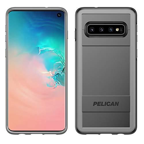 Pelican Protector Samsung Galaxy S10 Phone Case With Ams Car Vent Mount, Drop-Tested Protective Smartphone Cover, Wireless Charging-Compatible Accessory (Black)