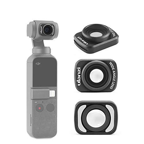 Ulanzi Op-5 18Mm Wide Angle Lens Compatible With Dji Osmo Pocket Magnetic Structure Hd Gimbal Accessories Professional Video Shooting