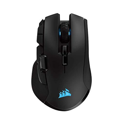 Corsair Ironclaw Wireless Rgb - Fps And Moba Gaming Mouse - 18,000 Dpi Optical Sensor - Sub-1 Ms Slipstream Wireless