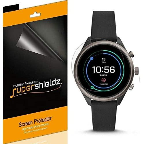 Supershieldz (6 Pack) For Fossil Sport Smartwatch 43Mm (Gen 4) Screen Protector, High Definition Clear Shield (Pet)