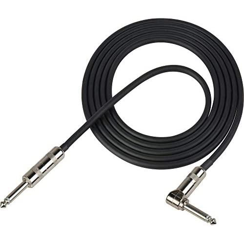 Switchcraft By Sescom Swc-Gcssra005 Unbalanced Guitar Cable - 1/4-Inch Male To 1/4-Inch Right Angle Male - 5 Foot