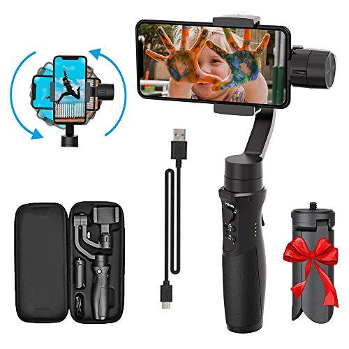 3-Axis Handheld Smartphone Gimbal Stabilizer For Iphone X Xr Xs Vlog Youtuber Live Video Record With Sport Inception Mode Face Object Tracking Motion Time-Lapse - Hohem Isteady Mobile Plus