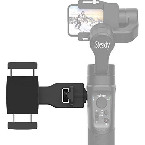 Hohem Smartphone Holder Phone Clip For Hohem Gimbal Accessories For Isteady Pro 2, Mobile Plus Gimbal Stabilizer With 1/4'' Screw Sold By Uskeyvision