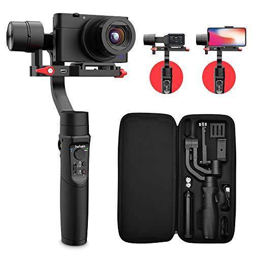 Hohem All In 1 3-Axis Gimbal Stabilizer For Digital Cameras/Action Camera/Smartphone W/ 600
